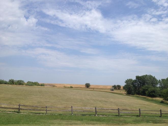 Rolling hills of Kansas