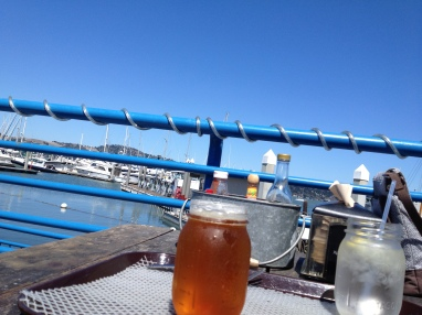 Beer in Sausalito...